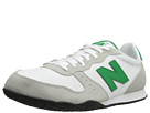 New Balance Classics ML402 Light Grey, Green Gecko Shoes