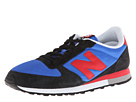 New Balance Classics U430 Navy, Red Shoes