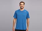 Nike Legend Dri-FIT Poly S/S Crew Top (Military Blue/Carbon Heather/Matte Silver)