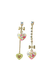 Betsey Johnson - Candy Heart Non-Matching Earring