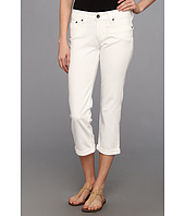 Lucky Brand - Sweet Jean Crop w/ Flap in Pearl