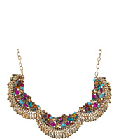 Betsey Johnson - Multi Shaky 3 Piece Frontal Necklace