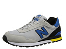New Balance Classics ML515 Grey, Blue Shoes