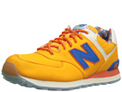 New Balance Classics ML574 Island Pack Yellow1 Shoes