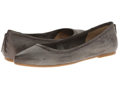 Shop Frye online and buy Frye Regina Ballet Charcoal Sunwash Nubuck Shoes - Frye - Regina Ballet (Charcoal Sunwash Nubuck) - Footwear: Multiple color choices and simple style make this flat anything but unoriginal. ; Soft, supple leather upper. ; Luxurious leather lining. ; Cushioned leather footbed for all-day comfort. ; Lightweight rubber outsole. Measurements: ; Heel Height: 1 4 in ; Weight: 6 oz ; Product measurements were taken using size 8.5, width B - Medium. Please note that measurements may vary by size.