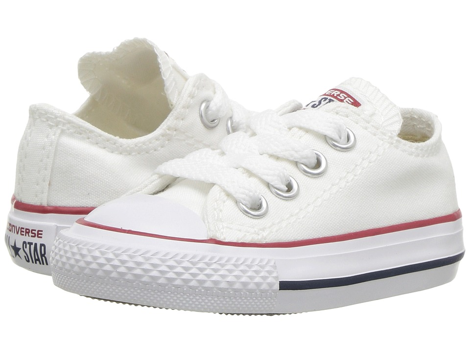 Converse Kids Chuck Taylor All Star Core Ox (Infant/Toddler) (Optical White) Kids Shoes