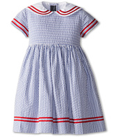 Oscar de la Renta Childrenswear - Seersucker Sailor Dress (Toddler/Little Kids/Big Kids)