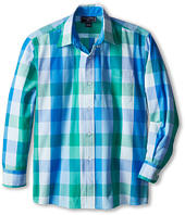 Oscar de la Renta Childrenswear - L/S Check Woven (Toddler/Little Kids/Big Kids)