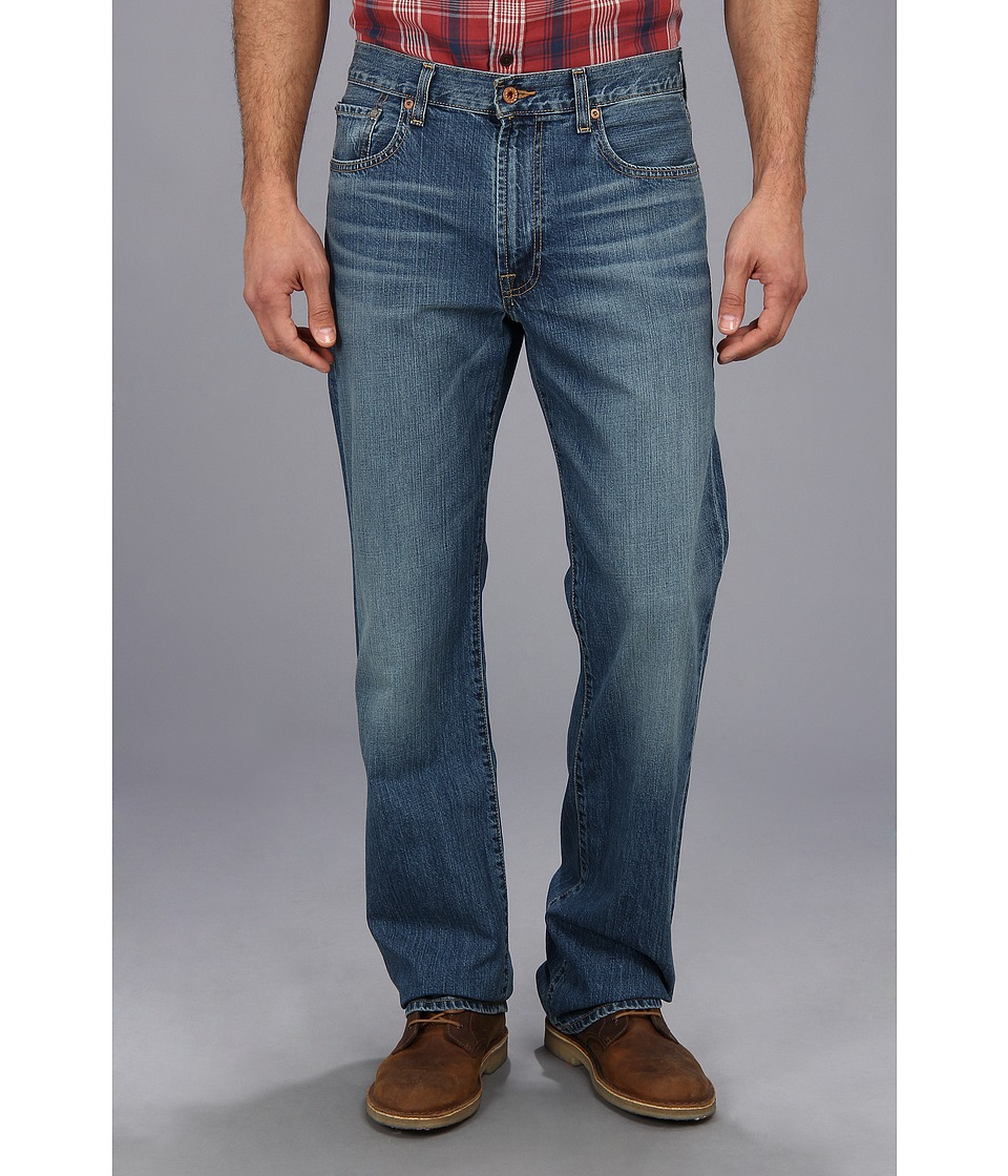 Lucky Brand 181 Relaxed Straight in Delwood L (Delwood) Men
