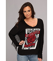 Affliction - Bed Of Roses L/S Top