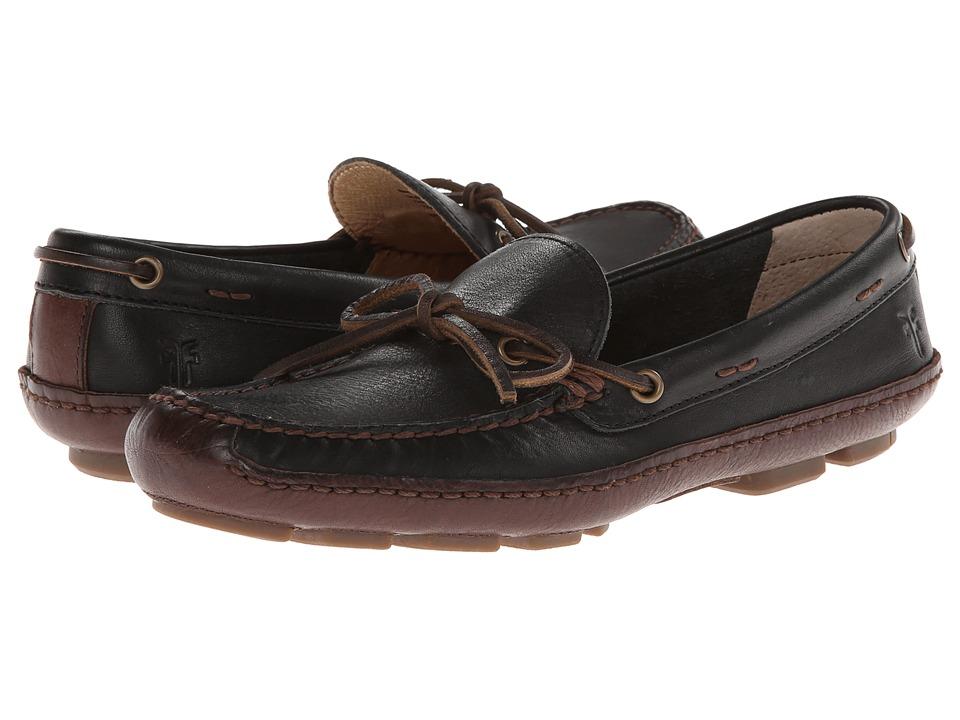 Frye - Harbor Tie (Black Wyoming) Men