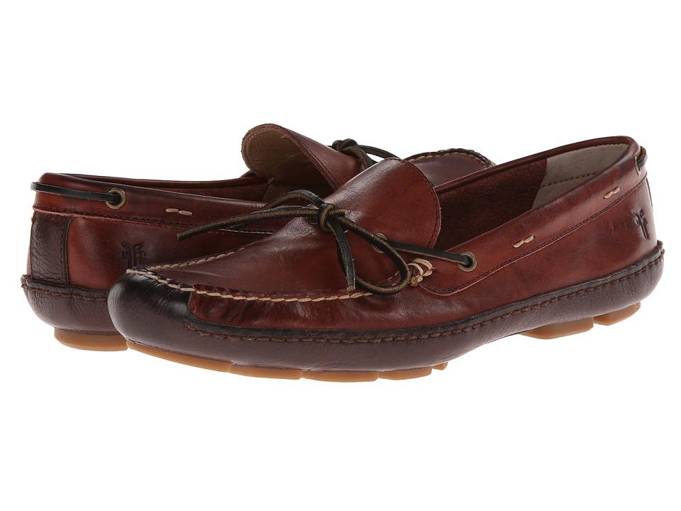 Frye - Harbor Tie (Black Cherry Wyoming) Men