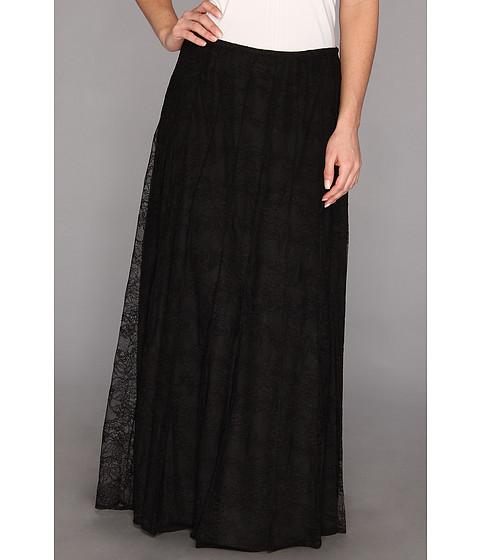 search calvin klein lace maxi skirt m3jnp335 black