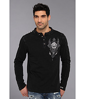 Affliction - Central L/S Quilted Panel Henley