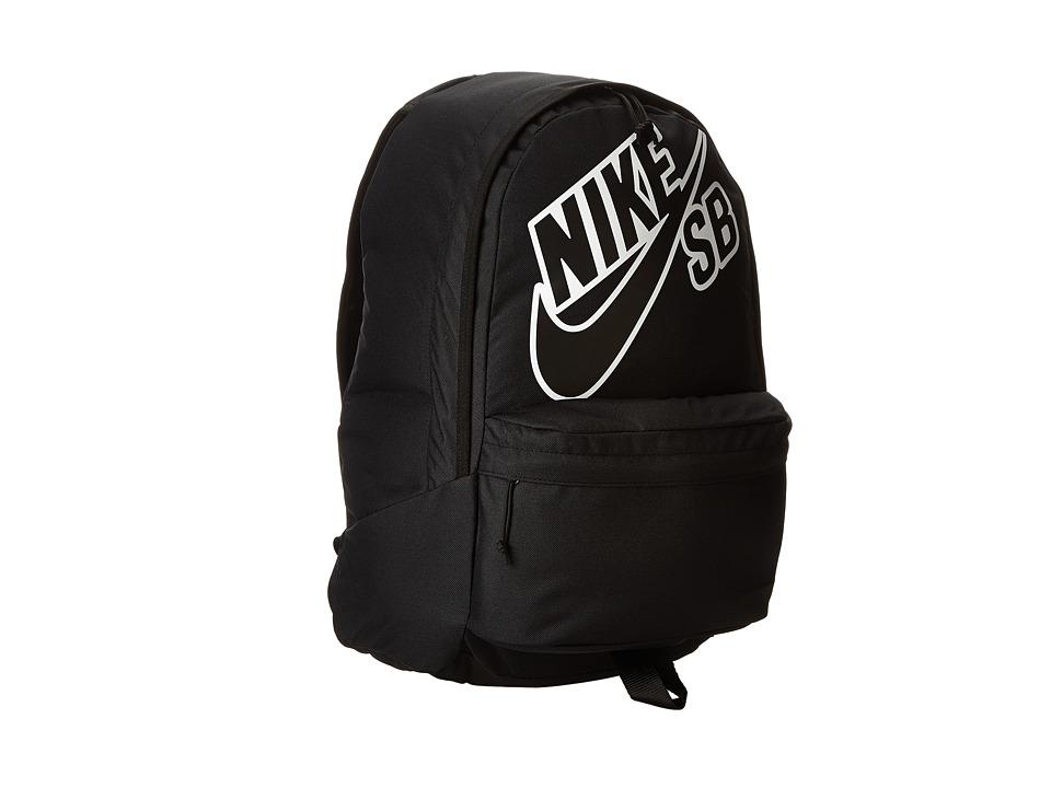 Nike SB - Piedmont Backpack (Black/Black/Black) Backpack Bags