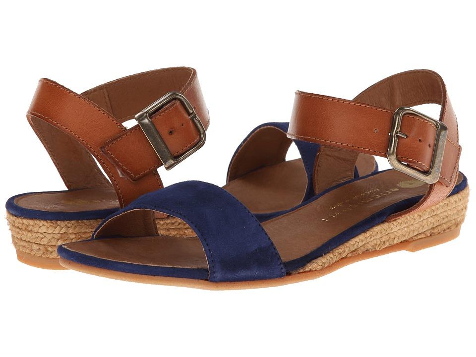 Eric Michael Amanda Navy Womens Sandals