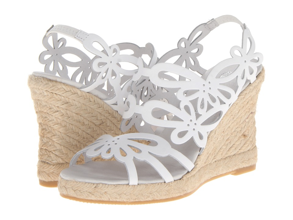 Eric Michael Jillian (White) Wedges