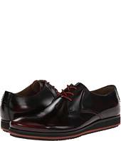 Hush Puppies Halo Oxford Plain Toe Red Leather