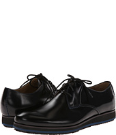 Hush Puppies Halo Oxford Plain Toe Black Leather