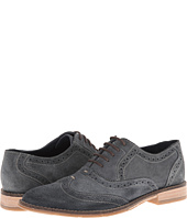 Hush Puppies Style Brogue Navy Suede
