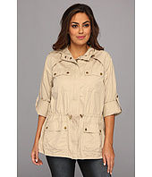 MICHAEL Michael Kors - Plus Size Twill Cinch Waist Anorak Jacket