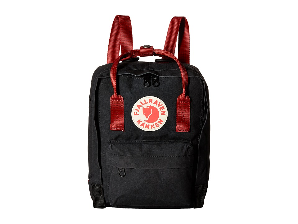 Fjäll Räven Kanken Mini Black Ox Red Backpack Bags