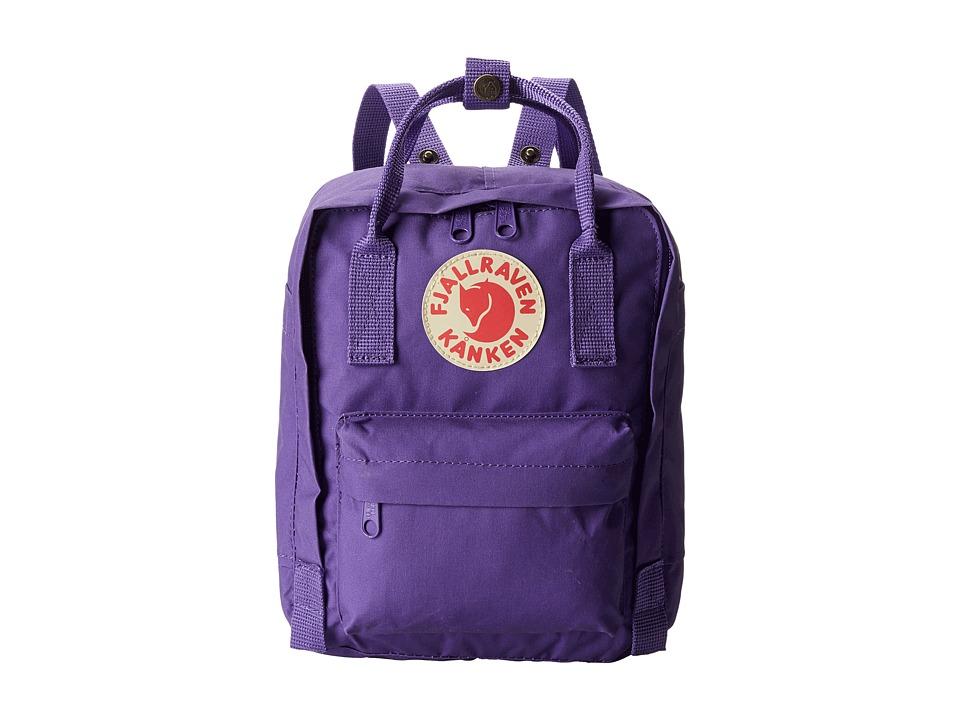 Fj llr ven K nken Kids (Purple) Backpack Bags