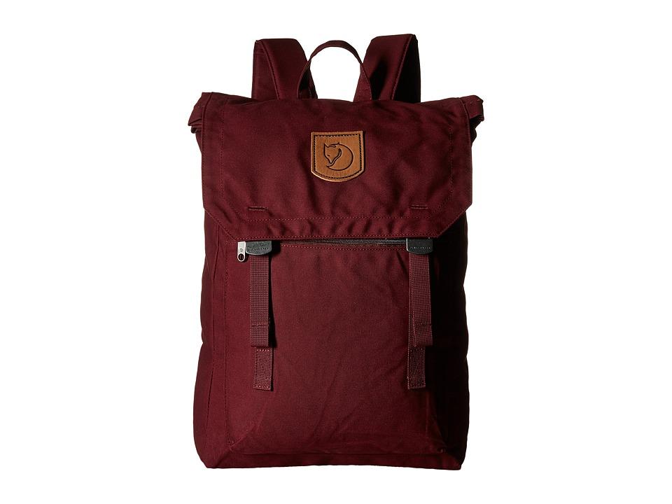 Fj llr ven - Foldsack No. 1 (Dark Garnet) Backpack Bags