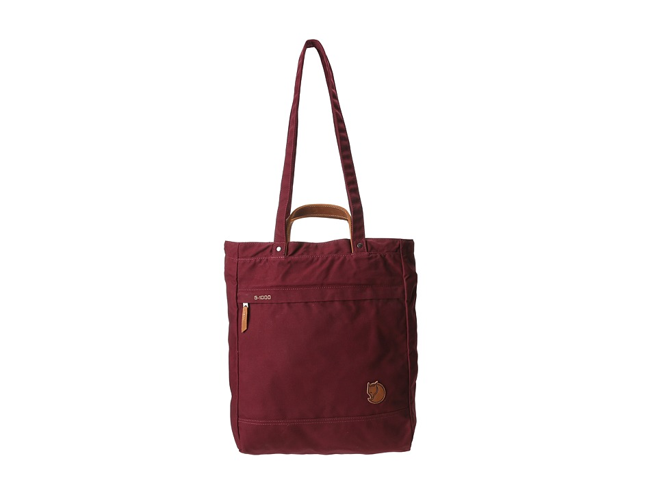 Fj llr ven - Totepack No. 1 (Dark Garnet) Backpack Bags