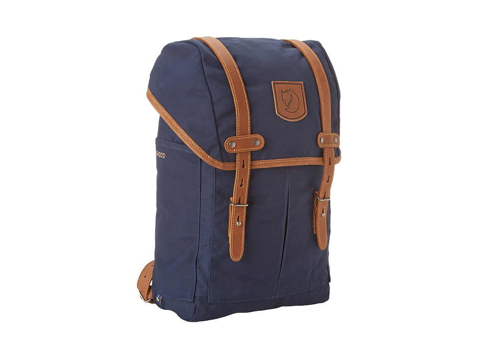 Fjallraven - Rucksack No. 21 Small (Navy) Backpack Bags