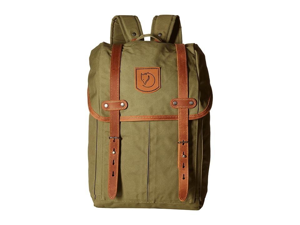 Fjäll Räven Rucksack No. 21 Small (Green) Backpack Bags