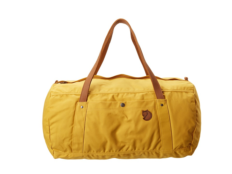 Fj llr ven Duffel No. 4 Large (Ochre) Duffel Bags