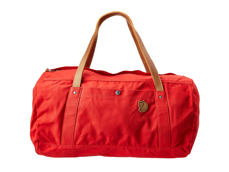 Fj llr ven - Duffel No. 4 Large (Red) Duffel Bags