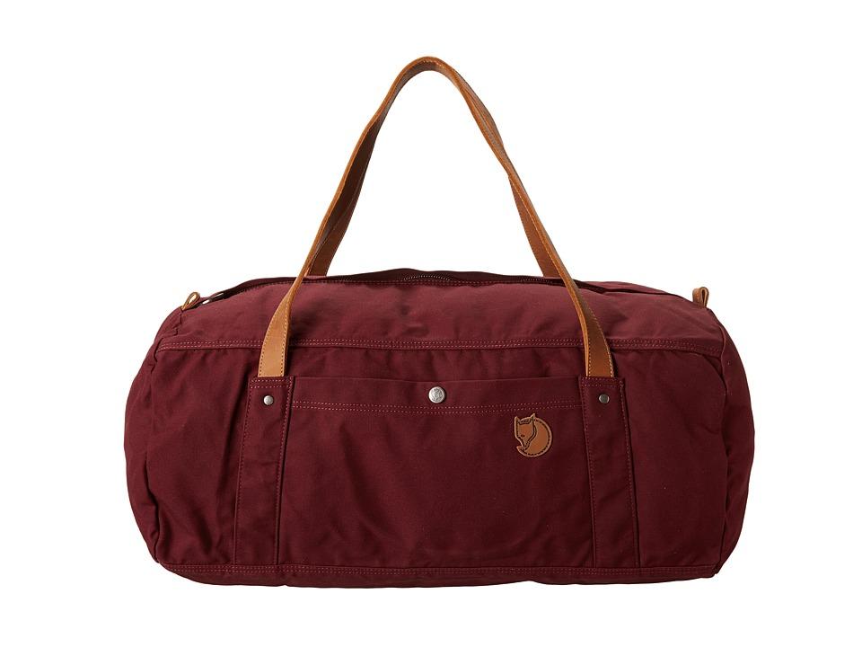 Fj llr ven - Duffel No. 4 Large (Dark Garnet) Duffel Bags