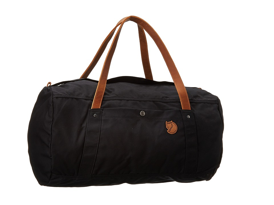 Fjallraven - Duffel No. 4 Large (Black) Duffel Bags