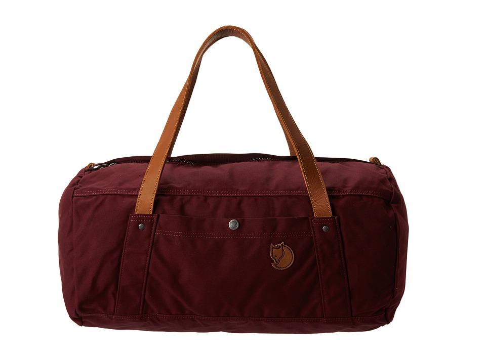 Fj llr ven - Duffel No. 4 (Dark Garnet) Duffel Bags