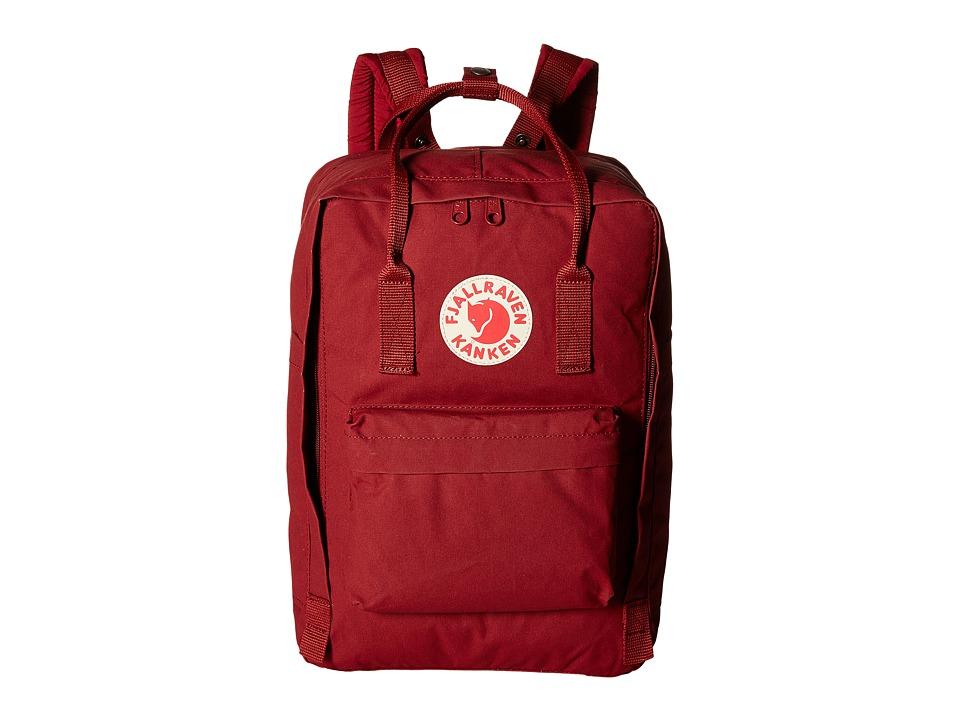 Fjallraven - Kanken 15 (Ox Red) Backpack Bags
