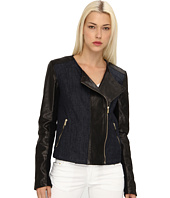 Armani Jeans - Leather And Denim Jacket