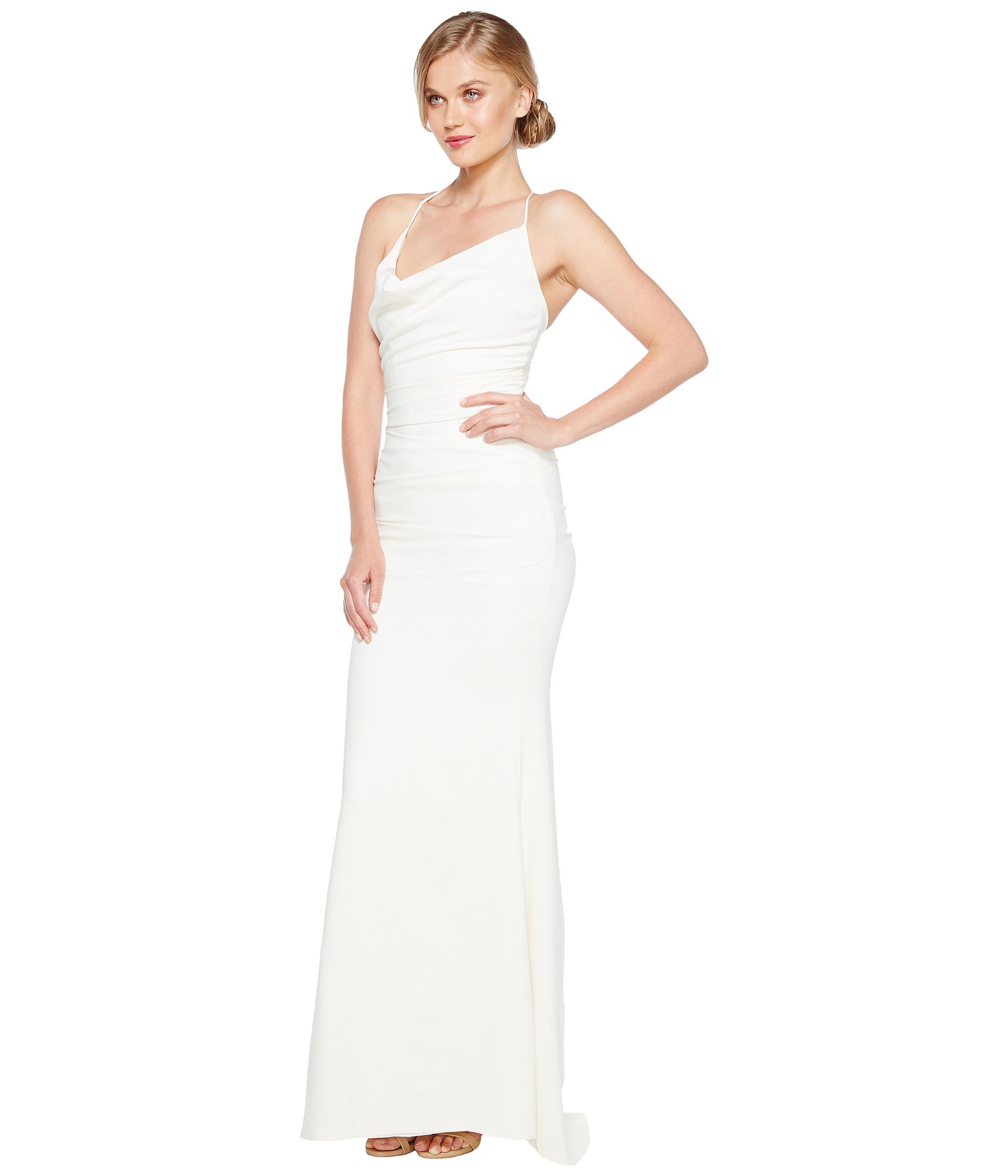 Nicole miller tara bridal gown zappos com free shipping both ways