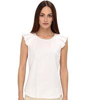 Armani Jeans - Short Sleeve Ruffle Sleeve Blouse