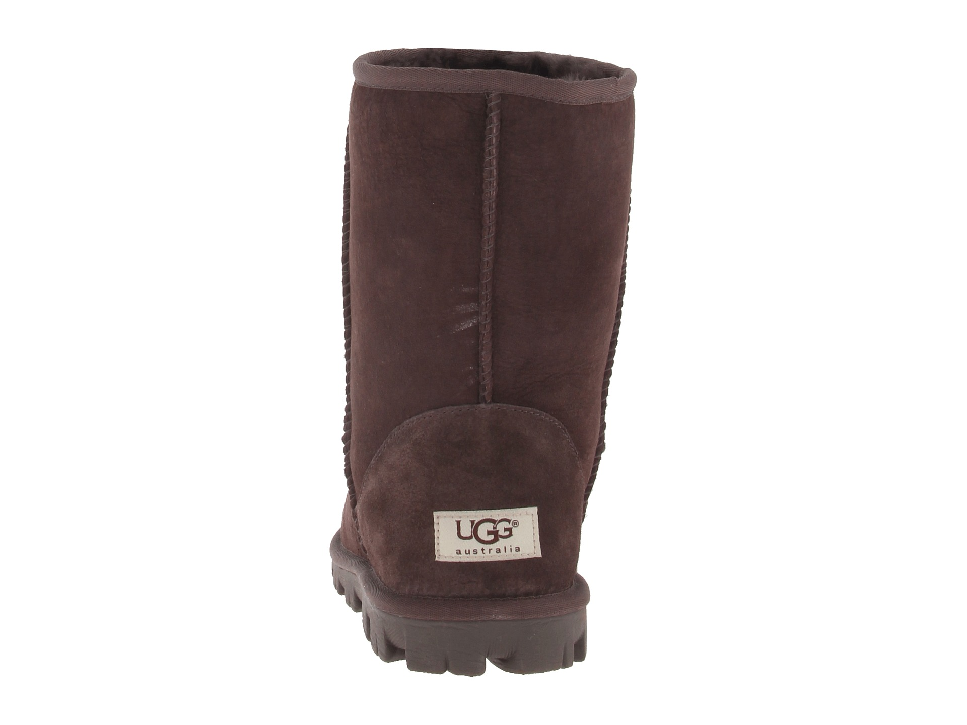 chocolate ugg boots short