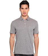 Vince - Melange Cotton Polo S/S Shirt