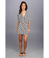Tbags Los Angeles - Tunic Dress w/ Two Chest Pockets