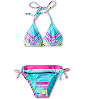 Roxy Kids - Tropical Stripe Double Casing Tri Set (Big Kids)