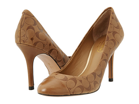 Get COACH Natassia Pumps just in $82.50 which was $165.00 originally marked