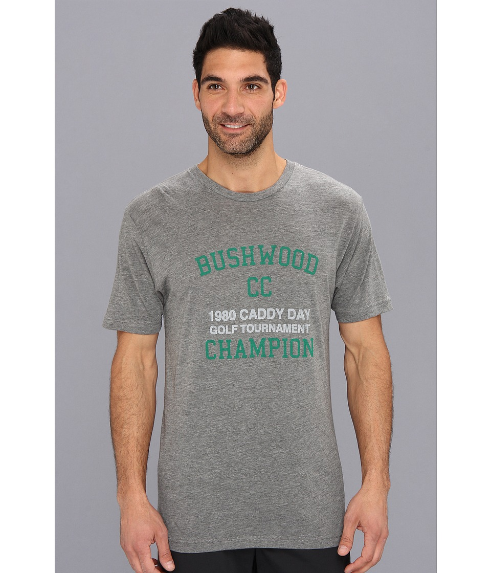 TravisMathew Bushwood T Shirt Heather Grey Mens T Shirt