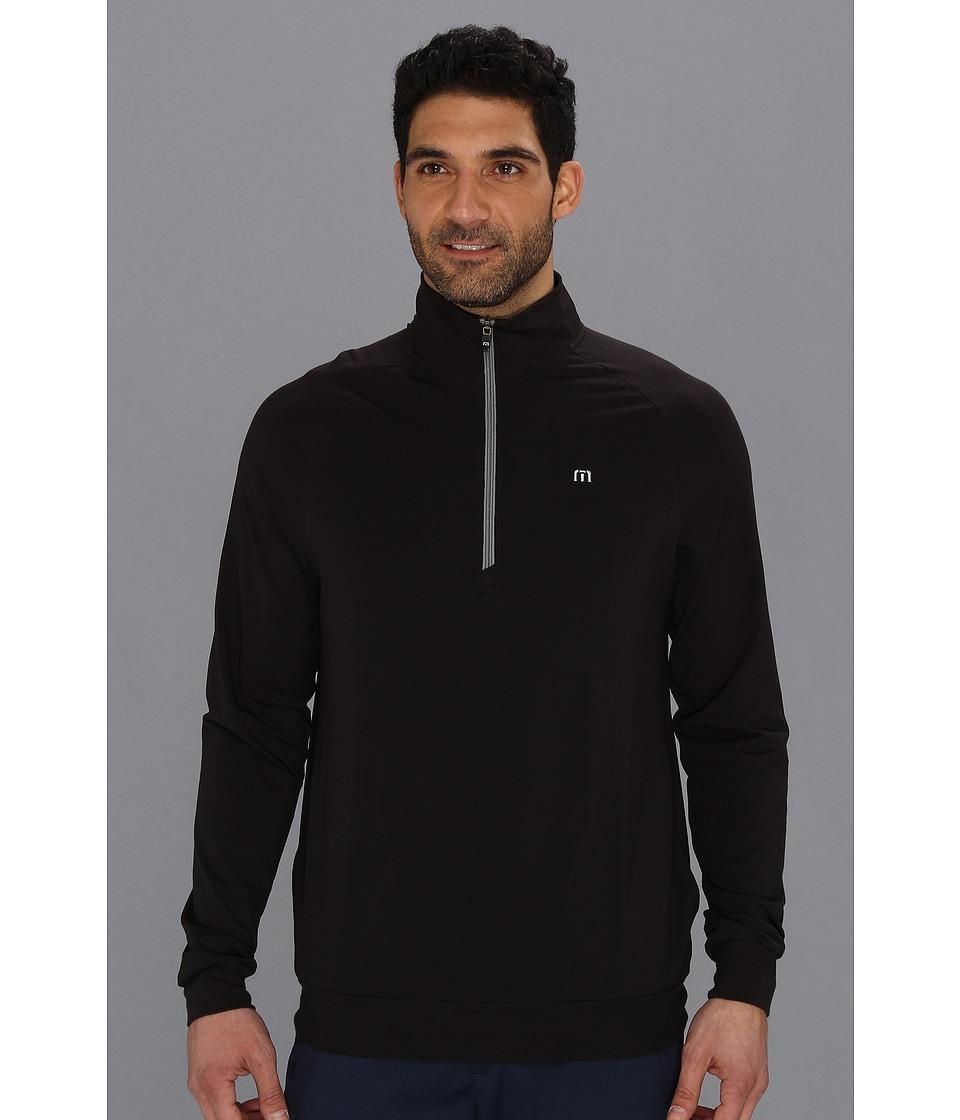 TravisMathew Strangelove Jacket Black Mens Sweatshirt