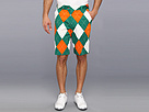 Loudmouth Golf Orange and Green Short