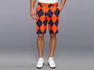 Loudmouth Golf Navy and Orange Short
