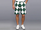 Loudmouth Golf Green and White Argyle Short